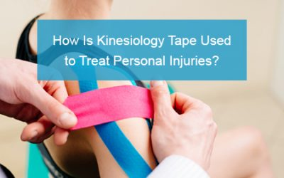 How Is Kinesiology Tape Used to Treat Personal Injuries?